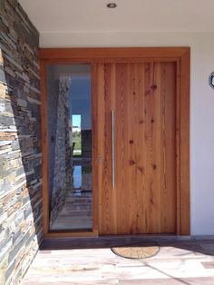 Ideas for main door design ideas patio Modern Entrance Door, Main Entrance Door Design, Door Gate Design, Garage Door Design, Front Door Design, House Entrance, Garage Doors, House Front Door, House Doors