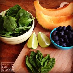 Mint + Melon Tummy Soother - Simple Green Smoothies
