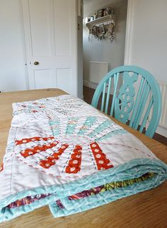 Love the hand quilting