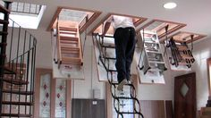 Image result for retractable loft ladders