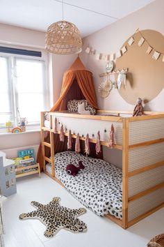 Big Girl Bedrooms, Little Girl Rooms, Girls Bedroom, Kura Ikea, Ikea Bed, Kura Bed Hack, Kids Bedroom Designs, Kids Room Design, Kid Beds