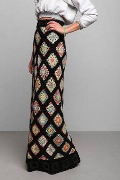 Una selección de faldas de crochet de LiveInternet