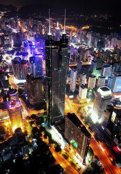 Shenzhen | China (by 一只鱼 fish)