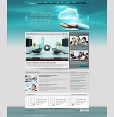 Clean Corporate Website Template PSD - http://www.welovesolo.com/clean-corporate-website-template-psd/