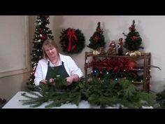 ▶ DIY Holiday Door Swags - YouTube