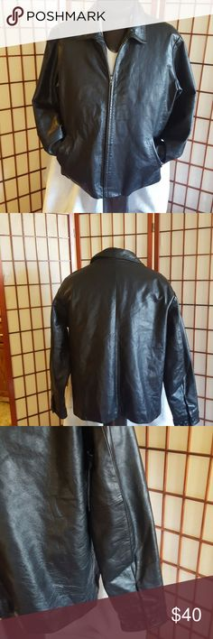 GAP JACKET  MEN SIZE L Gap jacket leather pre loved good condictions GAP Jackets & Coats