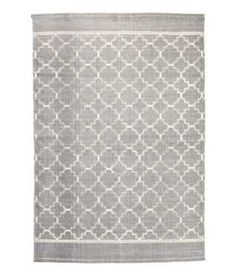 Patterned Cotton Rug | H&M