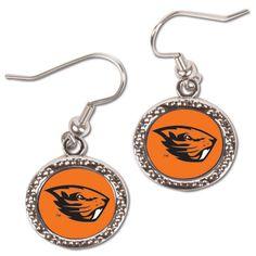 Oregon State Beavers WinCraft Women's Round Dangle Earrings - $8.99