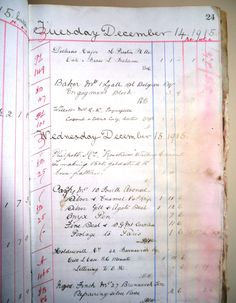 a photo of a ledger entry with writing in it Out Of Body, Spirit World, Most Haunted, Family Gifts, Writing, Books, House, Libros, Home