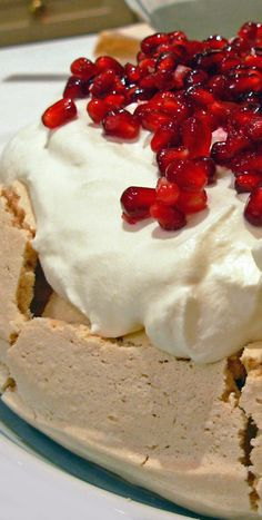 Best cake ever eaten! The Pavlova. Here, in Woodly kitchens, we do delicious ....