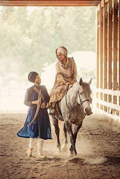 A Sikh couple on their wedding day - Imgur