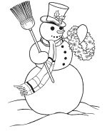 Christmas Coloring Pages - Christmas Scene Coloring Page Sheets| BlueBonkers
