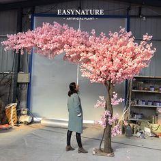 Blossom Tree Wedding, Blossom Trees, Shenzhen, Guangzhou, Japanese Sauna, Artificial Cherry Blossom Tree, Tree Wedding Centerpieces, Tree Interior, Rock Decor