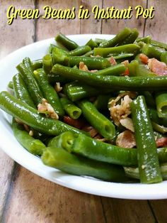 My favorite side is fresh green beans with bacon and a little butter. So I thought today I would share with you how I made in my Instant Pot. Also this is a great way to make for Thanksgiving since if your stove is like mine it will be filled up and you are making...