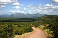 Sandstraße nach Thabazimbi