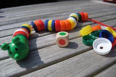 Thema doppen - Rijgrups (gezelschapsspel) Montessori, Busy Bags, Motor Activities, Working With Children, Business For Kids, Fine Motor, Kindergarten, Teaching, Fruit