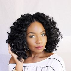 Top 100 short curly hairstyles for black women photos I kind of miss my crochet braids. I may just have to bring them back...but with better hair. 🤔 Check out how I refreshed this hair on my #YouTube channel!  #LinkInBio #CrochetBraids #JamaicanBounce #BlackYouTuber #NaturalHair #HealthyHair #HairstylesForBlackWomen #ProtectiveStyles #BlackHair #Melanin #WOC #SekoyaHicks See more http://wumann.com/top-100-short-curly-hairstyles-for-black-women-photos/