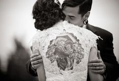 Take pride in your tattoo....even on your wedding day!