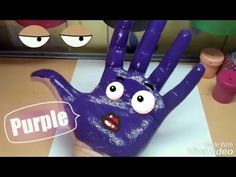 Learn Colors with Hands and Foots| DIY Animals PART 2 - YouTube