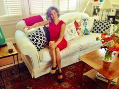 Dawn D Totty Designed Custom Pillows in Ikat & etc. Home Renovation, Home Remodeling, Custom Pillows, Magazine Design, Love Seat, Budgeting, New Homes, Couch, House Design