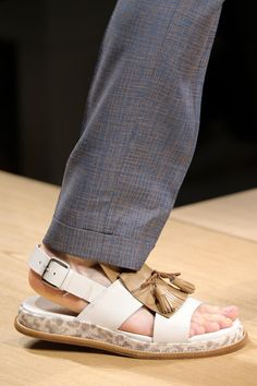 Salvatore Ferragamo | Spring 2015 Menswear Collection | Style.com #footwear