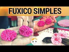 Nesse vídeo vamos fazer uma mini FLOR de FUXICO (FLOR de TECIDO), que dará leveza e graça ao seu artesanato Essa é uma flor de fácil confecção e bem delicada. Existem no canal outros artesanatos de FUXICO, bem diversificados, que certamente ir