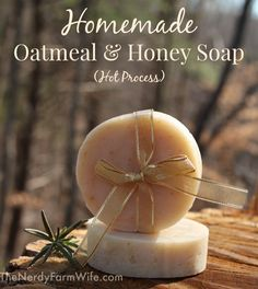 How to make Oatmeal & Honey Soap in your crock pot