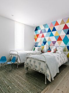 LOVE THE PAINTED WALL Contemporary Kids - contemporary - kids - san francisco