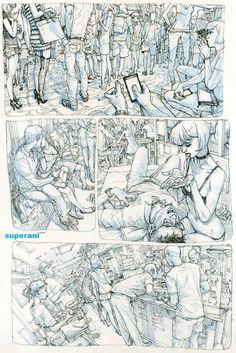 Drawing by Kim Jung Gi