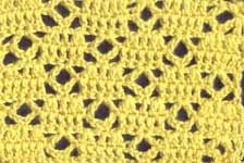 Holy cow! Visual crochet patterns for blanket stitches!