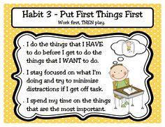 (☽ ̍̑⚈͜ ̍̑☾)                                                         Bulletin board-7 Habits