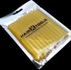 Amber Keratin Glue Gun Sticks for Hair Extensions 24pcs  #keratinglue #salon #hairtool #diy #gunstick #hairsalon