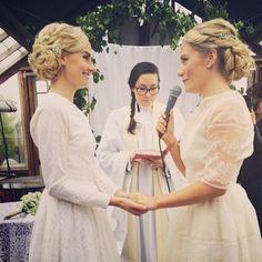 Wedding ceremony Rosenhill Ekerö