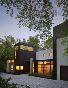 Crab Creek House  Annapolis, United States   A project by: Robert M. Gurney, Architect