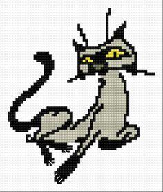 Cat (kitten, animal, fur, grey)