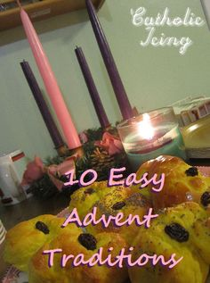 10 Meaningful Advent Traditions for Catholic Families that involve little to no prep work at all. You can do it!