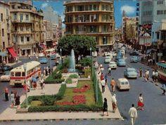 بيروت القديمة , مش رزق الله على هيديك الايام ...صباح الخير بيبول أوف ليبانون   Debbas square, Beirut City Center,  ساحة الدباس