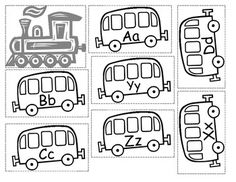 This worksheet is a great extension of my alphabet train center. Students will put a train together in alphabetical order. Each train car has the c...