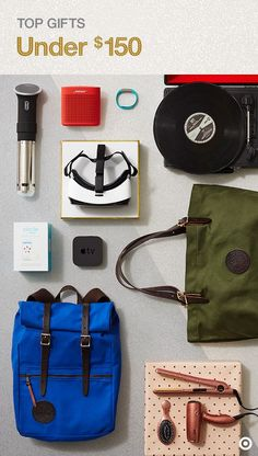 Looking for the top, must-have Christmas gifts for that special somebody on your list? For under $150, these cool, high-end items will surprise and delight any recipient. Duluth Pack bags, a cool turntable, sleek hair tools, a Bose wireless speaker, virtual reality headset and other great options will be perfect choices. For more gift ideas, visit The Wonderlist Gift Guide.