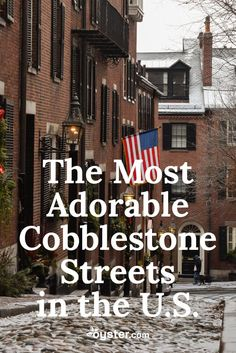 """The undeniable history, charm, and romance of cobblestone streets have a way of winning over even the most stubborn of self-proclaimed modernists. If we're going to be completely accurate, true """"cobblestone"""" streets are only those that are distinctly bumpy, with roundish stones, originally designed for horses (and their hooves) to get a good grip. Later in the 19th century came Belgian Blocks, often called """"setts"""" -- which are the more common rectangular granite stones that replaced true…"""