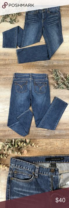Calvin Klein Skinny Jeans Great pair of Calvin Klein skinny jeans! In excellent condition. 99% cotton, 1% elastane. Size 6. See images for measurements. E-4 Calvin Klein Jeans Jeans Skinny