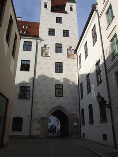 Alte Burg, nähe Marienplatz