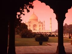 Agra, India: to see the Taj Mahal, which is one of the greatest monuments of love. <3