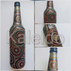 #kaleido #dotart #bottleart #puntillismo #dot