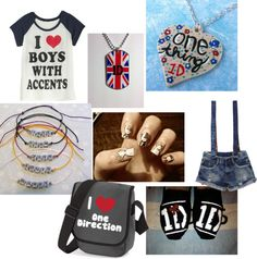 """ONe Direction concert outfit"" by ittiebittie on Polyvore"