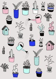 Plantes par Marie Bretin