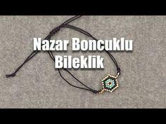 Nazar Boncuklu Bileklik - YouTube