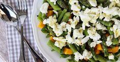Coco's Cute Corner: Spargelsalat mit Mango und Mozzarella di Bufala - ein Frühlingsrezept