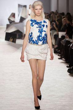 Nick Verreos: RUNWAY REPORT.....Paris Haute Couture Fashion Week, Giambattista Valli Haute Couture Spring/Summer 2014, Pics + Runway Video