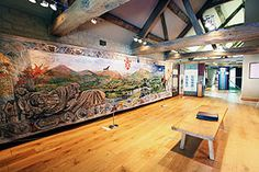 The Millennium Tapestry at the Tithe Barn  http://www.stmarys-priory.org/tithebarn/tapestry.htm